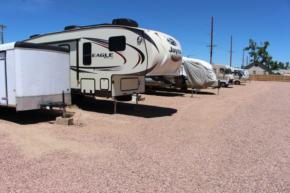 RV Parking Front